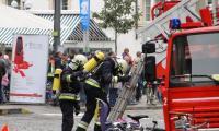 Feuerwehrübung in Bozen